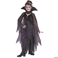 Daughter Of Darkness Vampire Costume for Girls