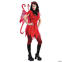 Devil Fairy Adult Women's Costume