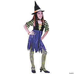 Fairy Tale Witch Girl's Costume