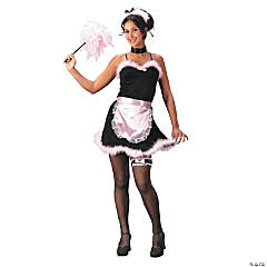 French Maid Pink Costume for Teen Girls