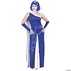 Frost Bite Ice Faux Adult Women's Costume