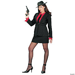 Gangsta Lady Adult Women's Costume