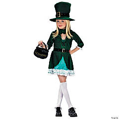 Leprechaun Lucky Girl's Costume