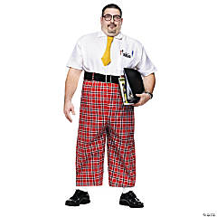 Nerd Plus Adult Men's Costume