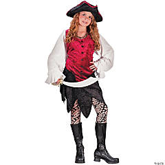 Pirate Lady Girl's Costume