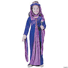 Renaissance Princess Velvet Girl's Costume
