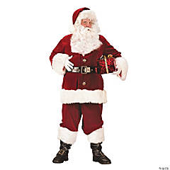 Santa Suit Super Deluxe Adult Men's Costume