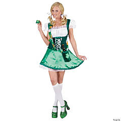 Adult Women's Sexy Irish Lassie Leprechaun Costume