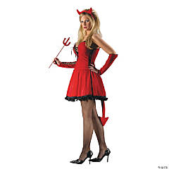 Sexy Devil Adult Women's Costume