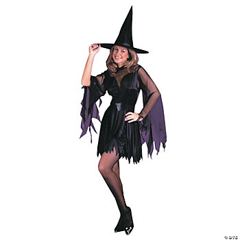 Sexy Witch With Sash Adult Women's Costume