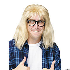 SNL Garth A Largear Wig & Glasses