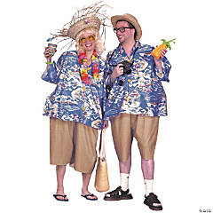 Tacky Traveler Adult Costume