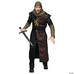 Valiant Knight Plus Size Costume for Men