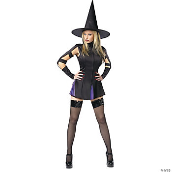 Sexy Wicked Witch Adult Women's Costume