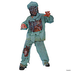 Zombie Doctor Boy's Costume