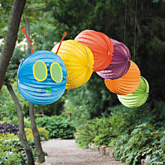 DIY Caterpillar Balloon Lantern Project Idea