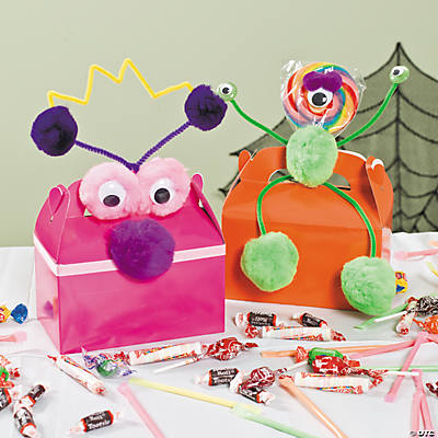 DIY Monster Treat Boxes Idea