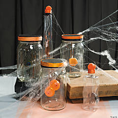 Mad Scientist Creepy Candy Bottles Idea