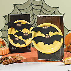 Bats In the Moon Luminary Bags Idea