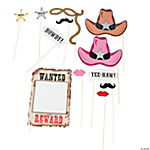 Western Accessories On A Stick Assortment