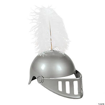 Knight Helmet with Feather