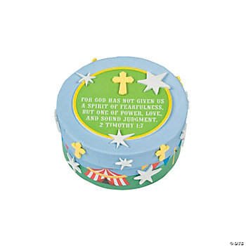 """Over The Top"" Prayer Box Craft Kit"