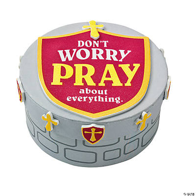 """Mighty Kingdom"" Prayer Box Craft Kit"