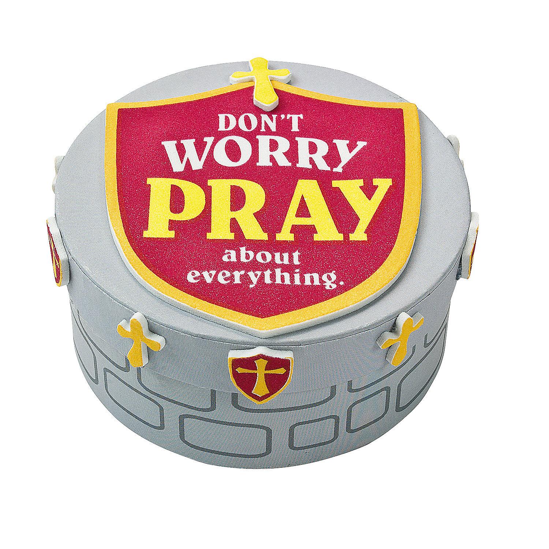 Mighty Kingdom Prayer Box Craft Kit Oriental Trading