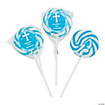 Personalized Religious Swirl Pops - Boy