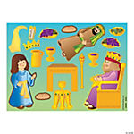 Make-A-Queen Esther Sticker Scenes