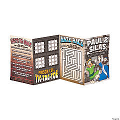 """Paul & Silas"" Fold-Up Activity Sheets"