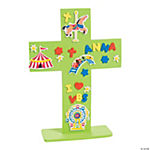"DIY ""Over The Top"" Stand-Up Cross Craft Kit"