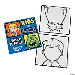 Make-A-Face Activity Books