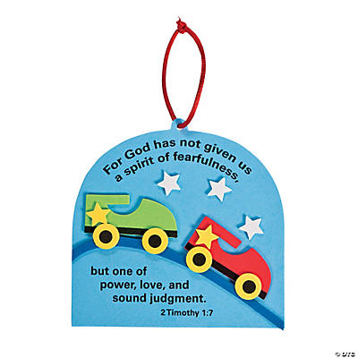 Roller Coaster Sign Verse Ornament Craft Kit