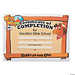 """Wild West"" Certificates of Completion"