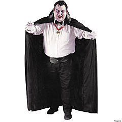 Cape Big And Tall Adult Men's Costume