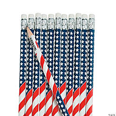 USA Flag Pencils