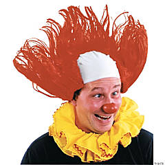 Clown Wig All American Red Y