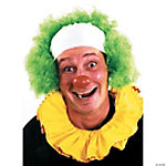 Clown Wig Bald Curly Green