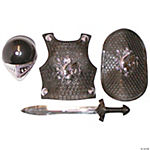 Child-Size Black Crusader Set