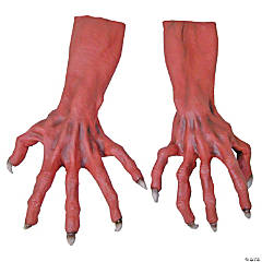 Ultimate Red Monster Hands