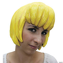 Wig Anime 6 Latex Yellow