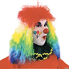 Wig Clown Rainbow