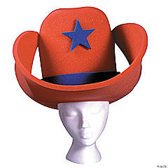 Red 40 Gallon Hat