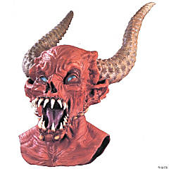 Long-Horned Demon Master Mask