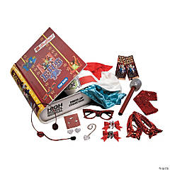 Dress Up Yearbook Girl's Costume Kit