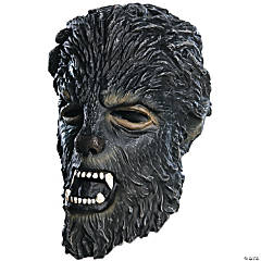 Wolfman 3/4Latex Mask Child