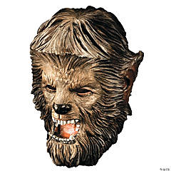 Wolfman Deluxe Latex Mask