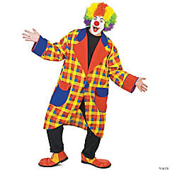 Clubbers Clown Jacket Adult Men's Costume