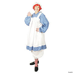 Raggedy Ann Plus Size Adult Women's Costume